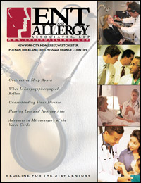 ENT and Allergy Magazine cover, Volume I, Issue I