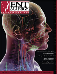 ENT and Allergy Magazine cover, Volume I, Issue III