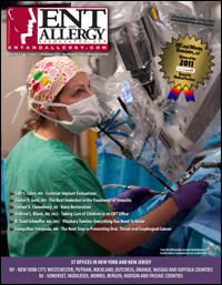 ENT and Allergy Magazine cover, Volume I, Issue VI